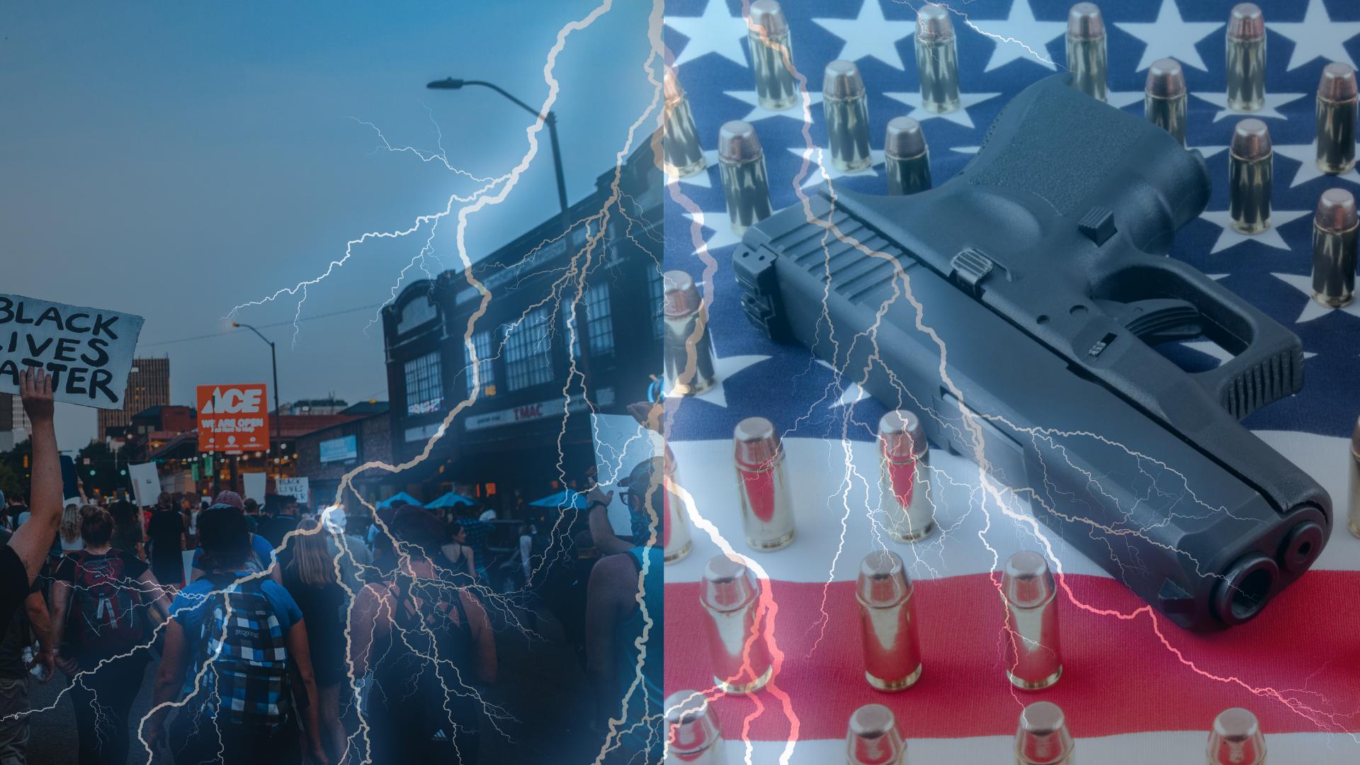 Clash of The Titans - 1st Amendment vs. 2nd Amendment During Protests