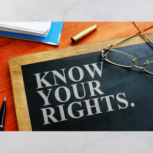 Know Your First Amendment Rights